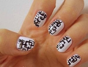 Art nail fun and graphic (2)