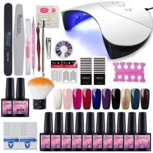 kit saint acior faux ongles